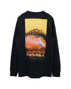 HOCKEY SILVER SURFER L/S TEE / BLACK