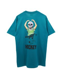 HOCKEY SKULL KID TEE / TEAL