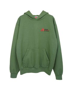 INFINITE ARCHIVES IA LOGO HOODIE / OLIVE