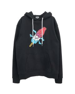 ICECREAM WAY HOODIE / BLACK