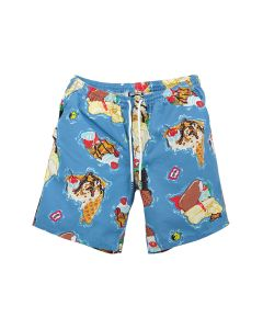 ICECREAM CAYMAN SHORTS / PARISIAN BLUE