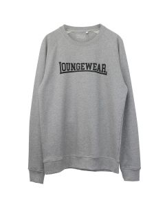 IDEA LOUNGEWEAR GREY CREWNECK SWEAT / GREY