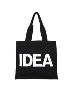 IDEA REHAB BAG / BLACK CANVAS-WHITE TEXT