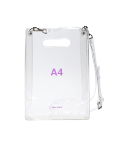 nana-nana A4 BAG / CLEAR