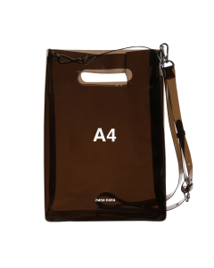 nana-nana A4 BAG / BLACK