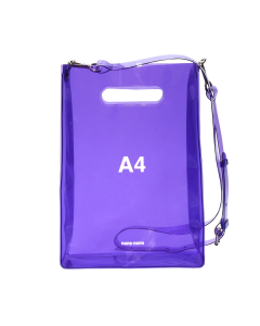 nana-nana A4 BAG / PURPLE