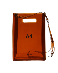 nana-nana A4 BAG / BROWN
