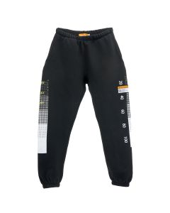 INDVLST TEST BAR LOGO SWEATPANT / BLACK