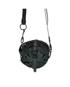 INNERRAUM I36_SMALL BALL BAG_KC / GREEN MATT-BLACK