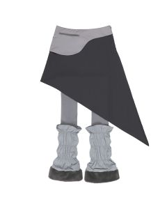 Jichoi WAIST BAG SKIRT W/LEG WARMERS / GREY
