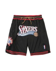 Just Don x Mitchell & Ness SWINGMAN SHORT PHILADELPHIA 76ERS / P76BLK