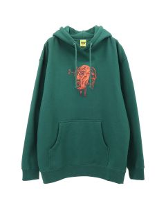 iggy TORTURE HOODED SWEATSHIRT / GREEN