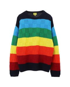 iggy RAINBOW CHECKERBOARD KNIT / RAINBOW