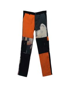 Jordan/Luca CALIBAN TROUSERS / BLACK ORANGE