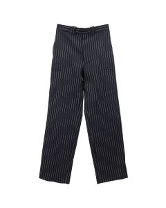JW Anderson PINSTRIPE MULTIPOCKET TROUSERS / 888 : NAVY