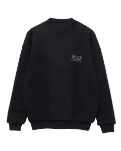 KAR / L'ART DE L'AUTOMOBILE KAR GT 04B BLACK CREWNECK REVERSIBLE / BLACK