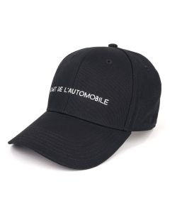 KAR / L'ART DE L'AUTOMOBILE BLACK STREET LEGAL CAP / BLACK