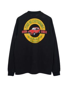KAR / L'ART DE L'AUTOMOBILE GOLF BLACK LONG SLEEVE T-SHIRT / BLACK