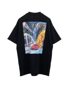 KAR / L'ART DE L'AUTOMOBILE F40 BURNING SHORT SLEEVES / BLACK