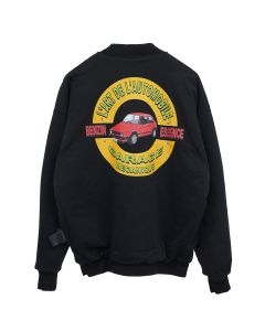 KAR / L'ART DE L'AUTOMOBILE CREWNECK GOLF / BLACK