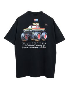 KAR / L'ART DE L'AUTOMOBILE x TAMIYA KARFOOT BLACK SHORT SLEEVES / BLACK