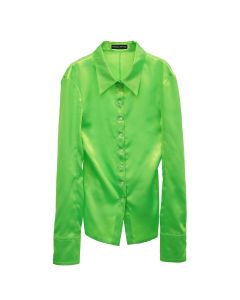 KWAIDAN EDITIONS TILTED SHIRT / NEON GREEN