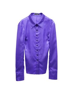 KWAIDAN EDITIONS TILTED SHIRT / VIOLET