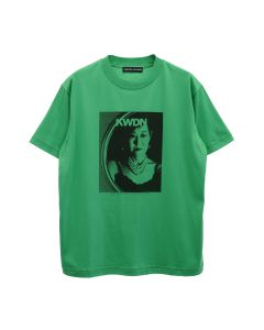 KWAIDAN EDITIONS MM PRINT SHORT SLEEVE T-SHIRT / GREEN MM PRINT