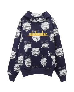 karmagawa x mindseeker ISLAND PATTERN HOODIE / ALL OVER