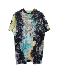KANGHYUK AIRBAG CAMO SHORT SLEEVE LOOSE SHIRT / YELLOW