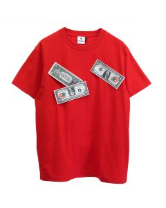 KOTA OKUDA MONEY FLAPPING-SHORT SLEEVE / RED