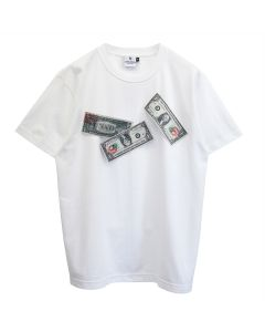 KOTA OKUDA MONEY FLAPPING-SHORT SLEEVE / WHITE