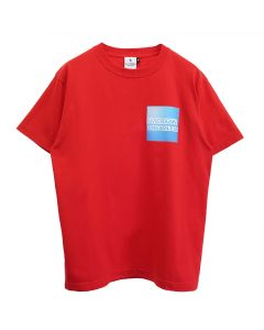 KOTA OKUDA AMERICAN DREAMLESS BLUE BOX-SHORT SLEEVE / RED