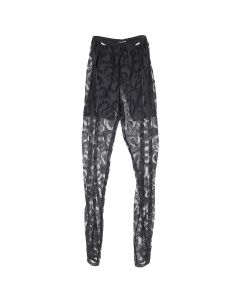 LĒO THULE/LACE PANTS / BLACK
