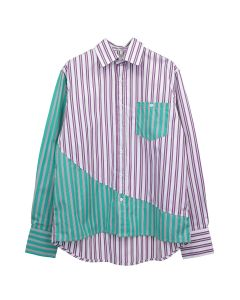 LIAM HODGES PARELLE DIMENSION SHIRT / 412 : GREEN
