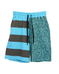 LIAM HODGES FLAMES COTTON SHORT / 515 : BLUE