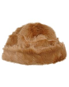 LANDLORD NEW YORK CAPSULE FUR BEANIE HAT / BROWN