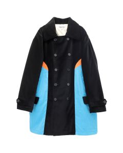 LANDLORD NEW YORK PRESCHOOL PEA COAT / BLUE