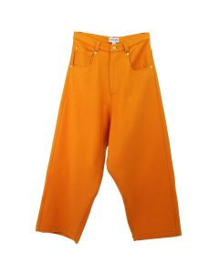 LANDLORD NEW YORK WOOL DENIM PANTS / ORANGE