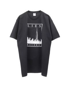 L.I.E.S. Records L.I.E.S. CITY SCAPES TEE / BLACK