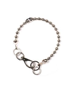 MARTINE ALI BROKEN BALL CHOKER / SILVER
