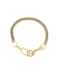 MARTINE ALI GOLD TWIN LINK UTILITY CHOKER / GOLD