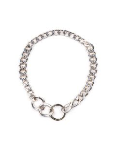 MARTINE ALI COMPOUND CHOKER / SILVER