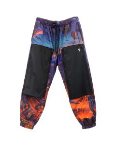 MARCELO BURLON ALLOVER FANTASY POCKET PANTS / 8801 : MULTICOLOR WHT