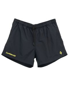 MARCELO BURLON CONFIDENCIAL SWIMMING SHORTS / 1015 : BLACK LEMON YELLOW