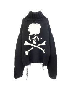 MASTERMIND WORLD KNIT 002 / 001 : BLACK