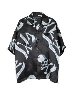 MASTERMIND WORLD SH018-400 / 001 : BLACK(TROPICAL)