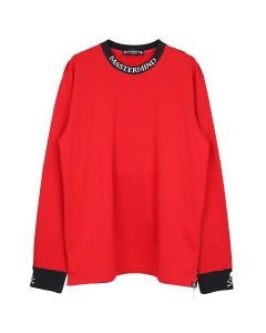 MASTERMIND WORLD SW068-012 / 002 : RED(BLACK RIB)
