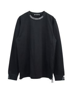 MASTERMIND WORLD SW068-012 / 003 : BLACK(BLACK RIB)