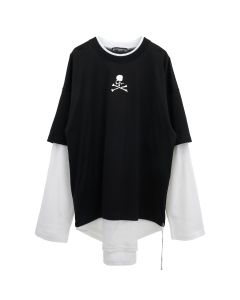 MASTERMIND WORLD TS041-900 / 001 : BLACK-WHITE(SMALL)
